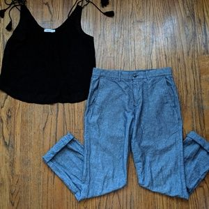 ☀️3 for 30☀️ GAP Chambray Pants